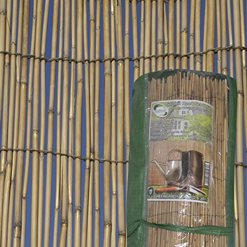 Garden Reed Fence Screening 4m x 1.5m Test