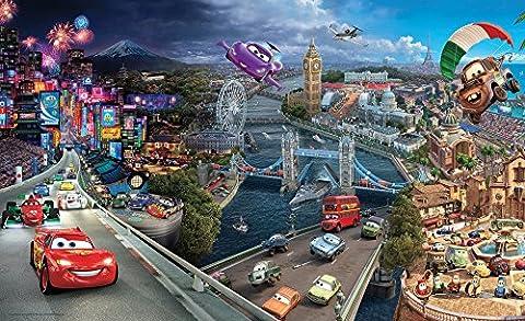 Olimpia Design Fototapete Photomural Disney Cars, 1 Stück, 4-012P4