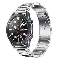 FOUUA Bracciale in acciaio inossidabile per orologio, cinturini per orologio in metallo con cinturino 18/19/20/22 / 24mm…