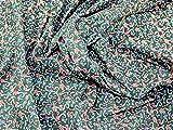 Candy Cane Print Weihnachten Baumwolle Stoff