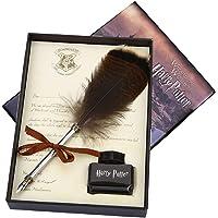 Stilografica con piuma di gufo per i fan di Harry Potter, idea regalo per i bambini e per amici Set penna gufo