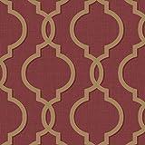 HOLDEN laticia Geometrisch Barock Muster Tapete metallische Glitzern texturiert - 65494