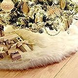 Thee Base decorativa per albero di Natale, motivo: pelliccia di Babbo Natale