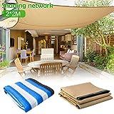 SueSupply Sonnensegel Sonnenschutz Garten Balkon und Terrasse