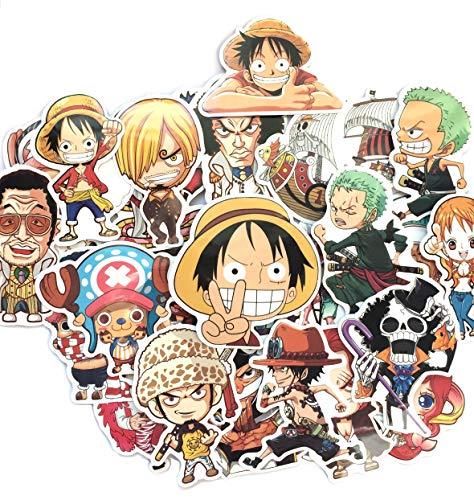 shopiseller Pegatinas One Piece Stickers Manga de una Pieza (46 Piezas