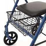 Ability Superstore - Cesto per deambulatore (rollator) a 3 ruote