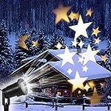 NOBILE LUXURIOUS  Avere questa stella stellata leggera,Rendere la tua atmosfera festosa non più monotona.Lasciate che i fiocchi di neve bianchi decorano la tua casa,Tu e la tua famiglia potrete godervi.Lo splendido spettacolo di luce ti rende più in...