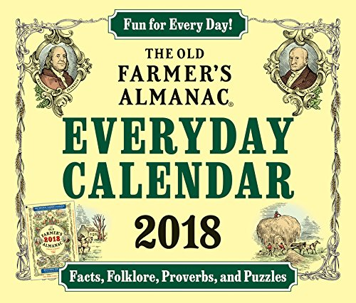 The Old Farmer's Almanac 2018 Everyday Calendar