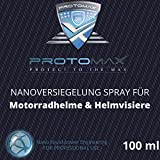 PROTOMAX Nanoversiegelung-Spray fürs Motorrad: Motorradhelme, Helmvisiere, Integralhelme & Visiere (100 ml)