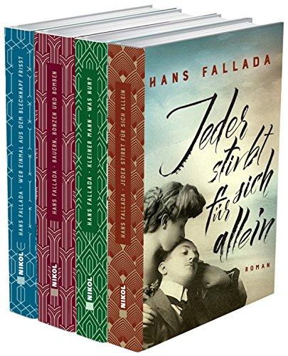 Hans Fallada (vier Romane) - Jeder stirbt für sich allein - Kleiner Mann, was nun? - Bauern, Bonzen und Bomben - Wer einmal aus dem Blechnapf frißt