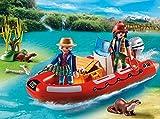 PLAYMOBIL 5559 - Schlauchboot mit Wilderern von PLAYMOBIL