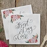 Boho - Best Day Ever Paper Napkins