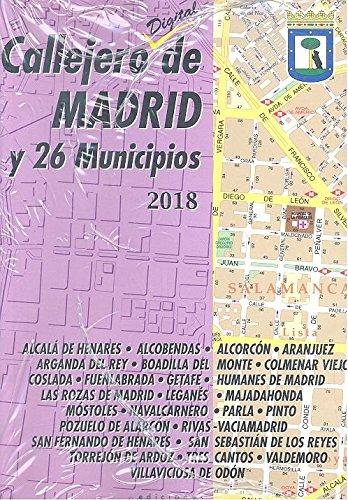 Callejero de Madrid y 26 municipios 2018
