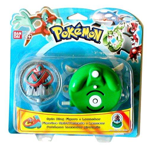 Pokemon Spin Ring Figur + Werfer (Trainer-karte Pokemon Misty)
