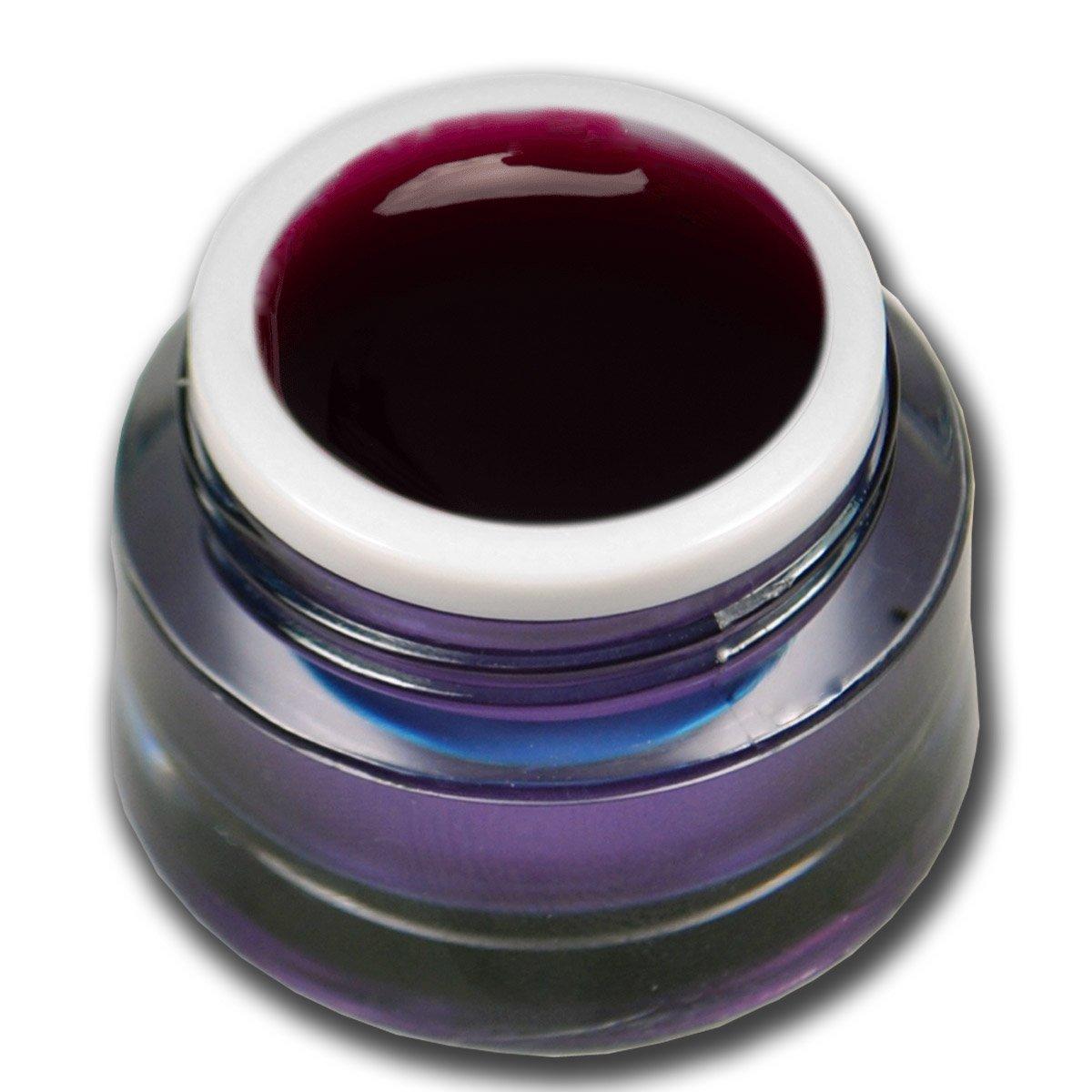 Premium Gel vetro colorato rosso 5ml Gel UV Unghie Nail Art