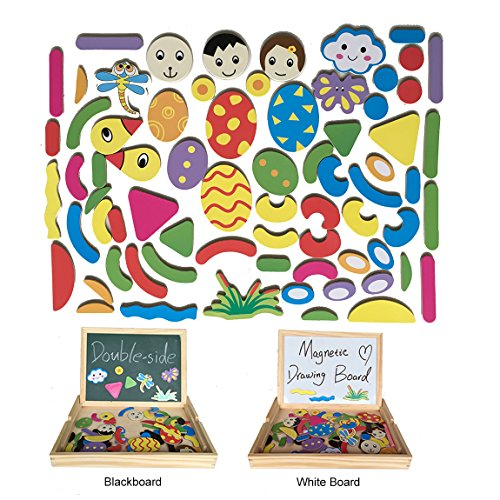 YIXIN Magnetisches Spielzeug Magnet Doodle aus Holz -
