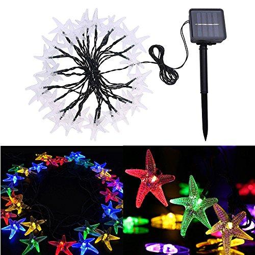 elecfan Lichterketten für Innenräume, Christmas Lighting Flashing LED Waterproof String Lights 30 LED Party, Outdoor, Partydekorationen Lichterkette usw,Farbe