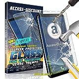 Access-Discount WIKO LENNY 4 PLUS LENNY4+ - Film En VERRE trempe vitre durci Solide pour Ecran sur mesure adapté & dédié WIKO LENNY 4 PLUS LENNY4+