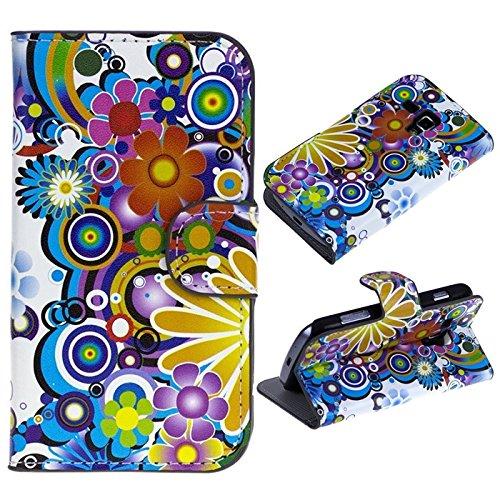 Trends Promo Cuir Style Étui Coque Housse de Protection pour Samsung Galaxy Trend GT-S7560 / Galaxy S Duos S7562 (A783)