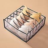 NOPNOG Home Boîte de rangement pour tiroirs en polyester, parfait pour sous-vêtements, culottes, soutien-gorge, chaussettes