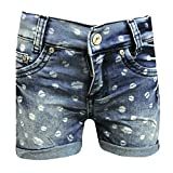 BlueEffect – Filles shorts d'enfants short bleu à motifs, – 3611-9755