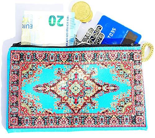 Monedero Turco Tradicional con Cremallera - Ideal para Monedas, Tarjet