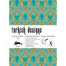 Turkish designs - Volume 2. Grandes feuilles de papier cadeau de haute qualité.