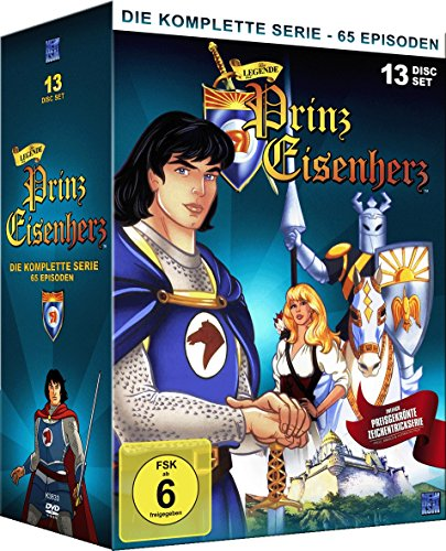Die Legende von Prinz Eisenherz - Gesamtbox (Alle 65 Folgen auf 13 Discs)