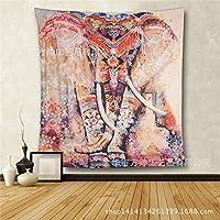 Adornos behangen elefante böhmischer estilo bufanda pared colgador Toalla Toallas de mano de playa sentado techo Picnic Mesa Servilletas pared, 210*150cm