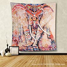 Adornos behangen elefante böhmischer estilo bufanda pared colgador Toalla Toallas de mano de playa sentado techo