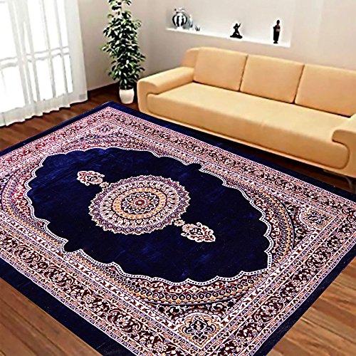Original Velvet shaahi Carpet Of Persian Design By Vivek Homesaaz 5' X...