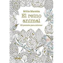 Postales. El reino animal.: 30 postales para colorear