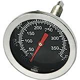 Onlyfire BBQ träkol rökare gasgrill grillare urtavla 52 mm (2 tum) termometer temperaturmätare