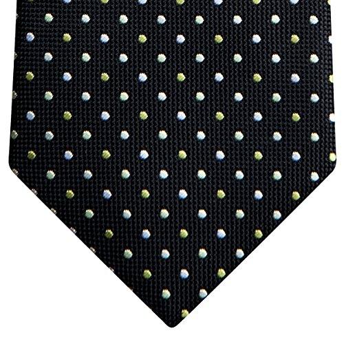Retreez - Cravate - À Pois - Garçon Schwarz