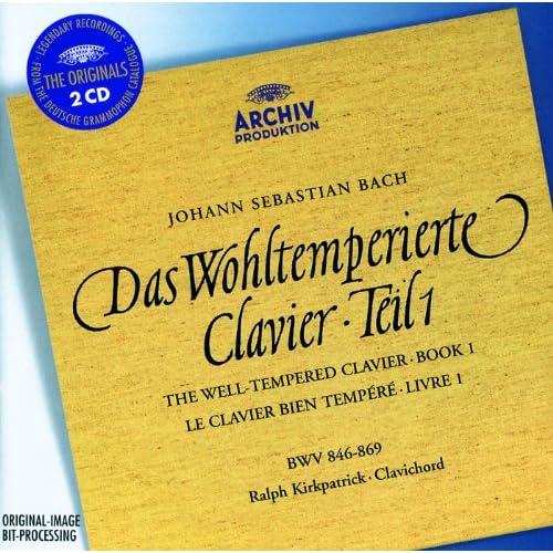 J.S. Bach: Das Wohltemperierte Klavier: Book 1, BWV 846-869 - Fugue in F sharp major BWV 858