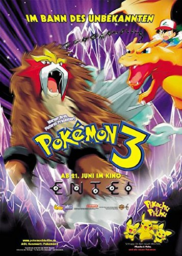 Pokémon 3 - Im Bann des Unbekannten (2000) | original Filmplakat, Poster [Din A1, 59 x 84 cm]