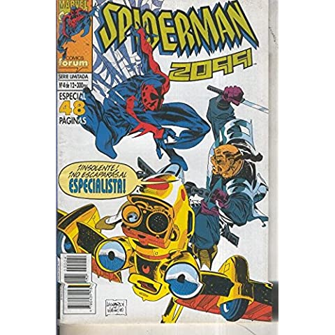 Spiderman 2099 volumen 1 numero 04