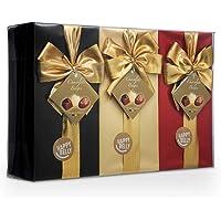 Marchio Amazon - Happy Belly Selezione di praline di cioccolato belga 3 x 250g