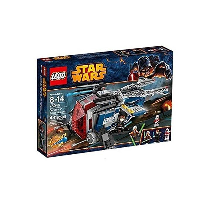 LEGO Star Wars 75046 - Coruscant Police Gunship