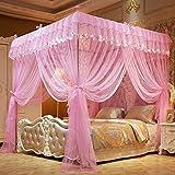 Kaxima Moskitonetze Stock-Bett Moskitonetze aus rostfreiem Stahl mit groben pastoralen kleinen frischen Mücke