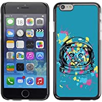 [ For APPLE IPHONE 6 PLUS / 6S PLUS (5.5 IN.) ][ Xtreme-Cover ][ Custodia Protettiva Case ShellCustodia ] - Cute Funny Space Astronaut Kitty Cat