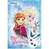 Undercover FRWD8020 - Calendario Disney, Frozen, Multicolor