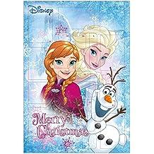Calendari dell'avvento Disney Frozen colorato