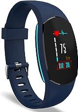 Orologio Fitness, YoYoFit Egg Display Colorato Orologio Cardiofrequenzimetro Activity Fitness Tracker, Impermeabile IP67 Smart Watch Uomo Pressione Sanguigna Orologio Contapassi Donna per iPhone Android