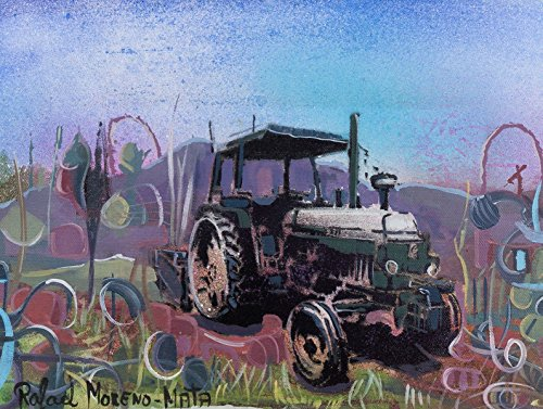 tractor-john-deere-pintura-original-hecha-a-mano