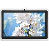 Tablet PC quad-core A33 Quad-Core A33 da 7 pollici, Tablet portatile bianco con touchscreen IPS HD, ROM da 8 GB, supporto WIF