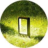 Topmo-plus LED Palo da Esterno/Paletto da giardino/Lampade da giardino / 7W Puri COB Luci/Lampada da...
