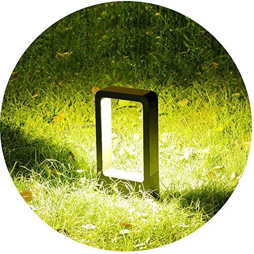 Topmo-plus Poste de Luz/Aplique jardín iluminación exterior / 7W Puri LED COB...