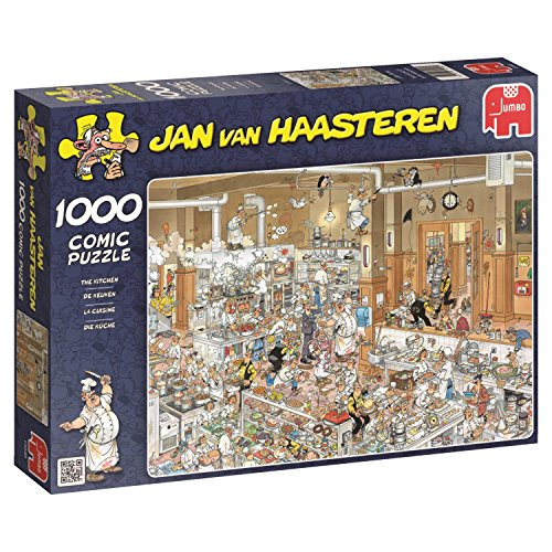 Jumbo - Puzzle The Kitchen, 1000 Piezas (13049)