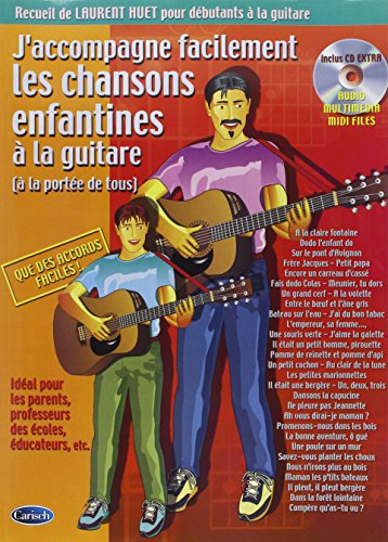 Huet Laurent J'Accompagne Chansons Enfantines Accomp Childrn Songs Bk/ par Laurent Huet